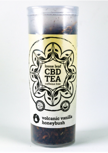"""One Love Tea"" Volcanic Vanilla Honeybush 150mg"