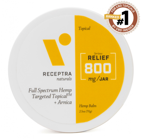 Serious Relief + Arnica Targeted Topical-800mg (2.5oz)