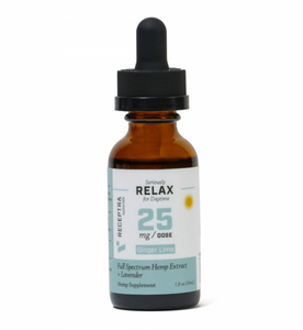 Seriously Relax + Lavender Tincture 25mg /dose (1 oz.)