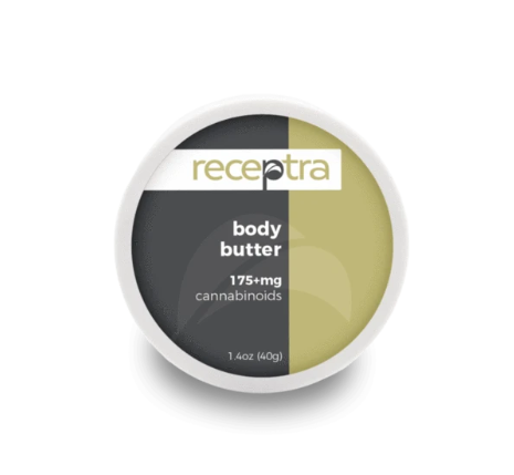 Receptra CBD Hemp Oil Body Butter 175mg