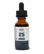 Load image into Gallery viewer, Serious Rest + Chamomile Tincture 25mg /dose (1 oz.)