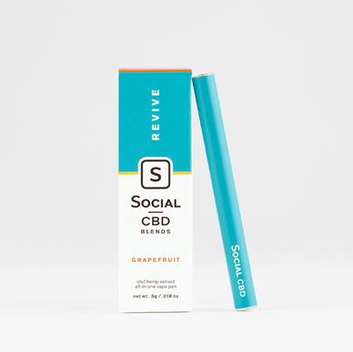 Social Grapefruit Revive Disposable CBD Vape Pen