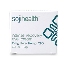 Load image into Gallery viewer, SOJI Health Intense Recovery CBD Eye Cream