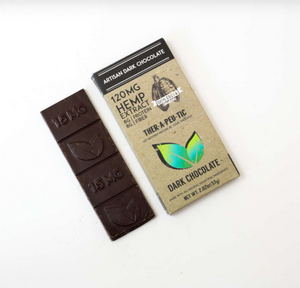 THER-A-PEU-TIC Extra Strength 70% Dark Chocolate 120mg