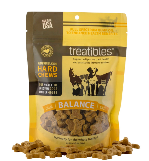 Treatibles Balance (Pumpkin Flavor) Hard Chews