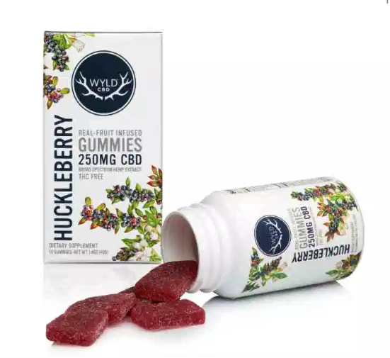 Wyld CBD Huckleberry Gummies – 250MG