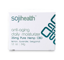 Load image into Gallery viewer, Soji Health Anti-Aging Daily CBD Moisturizer