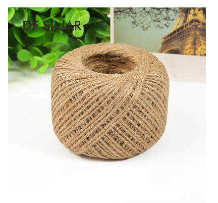 Colored Cotton Jute Cord Rope