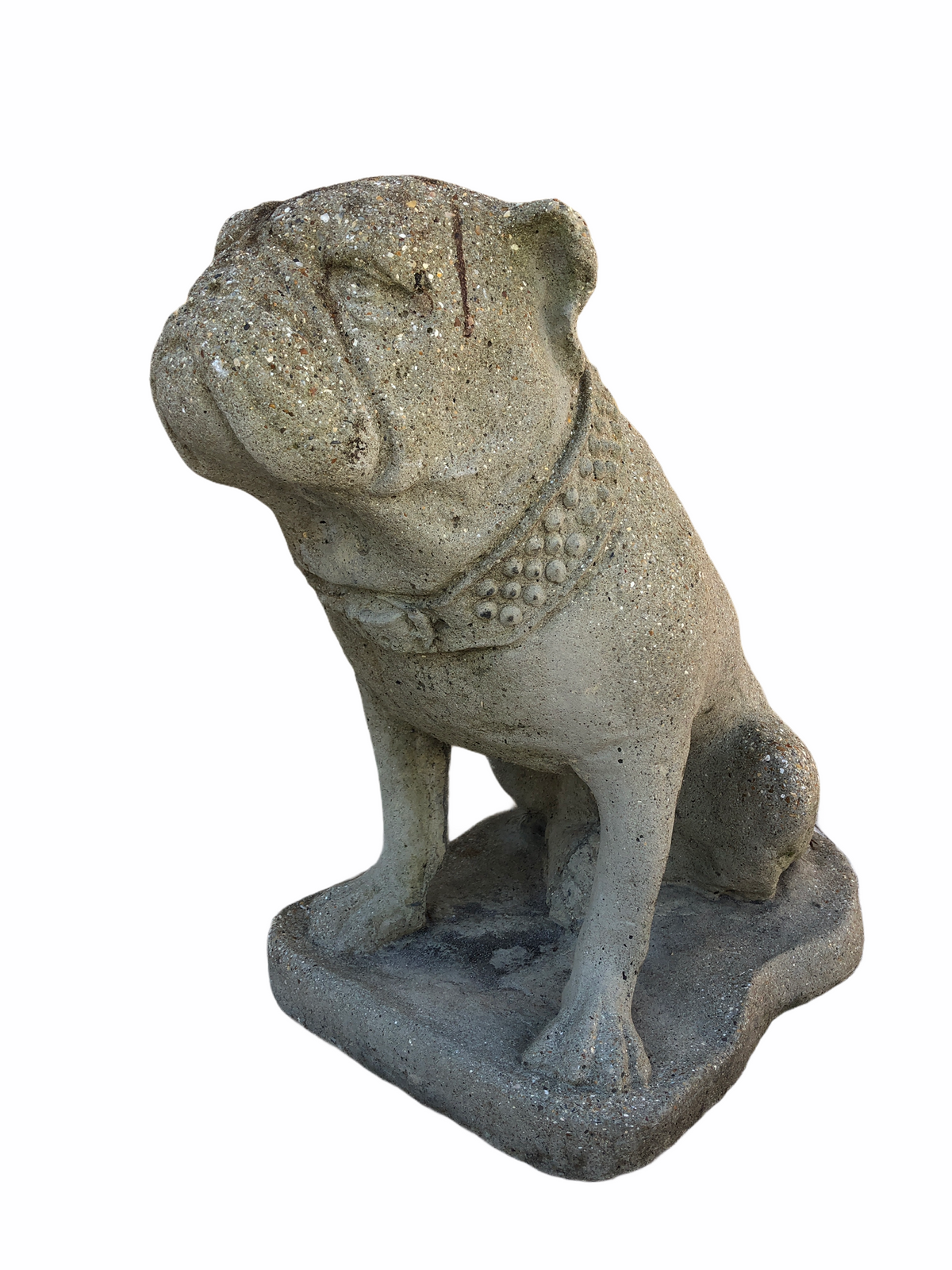 Cast Stone Bulldog