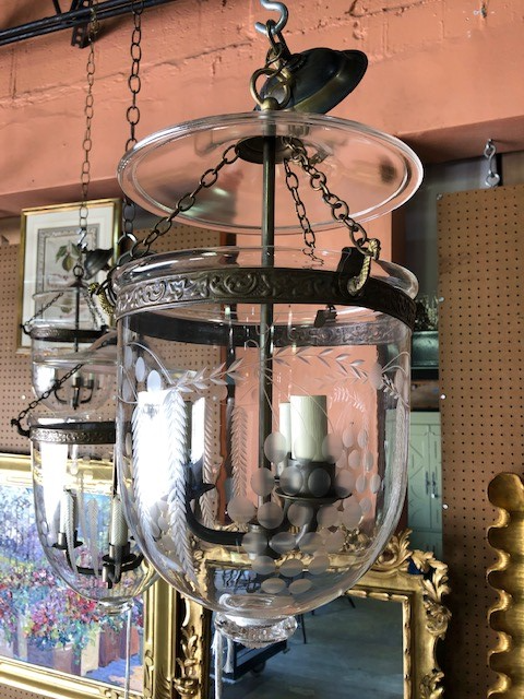 Antique and Vintage Bell Pendant Lights