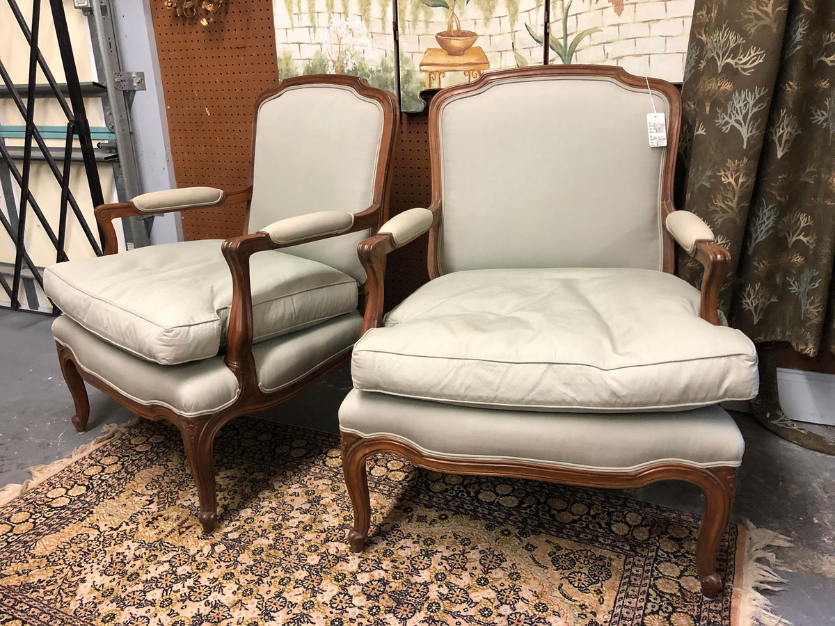 Pair Bergere Chairs