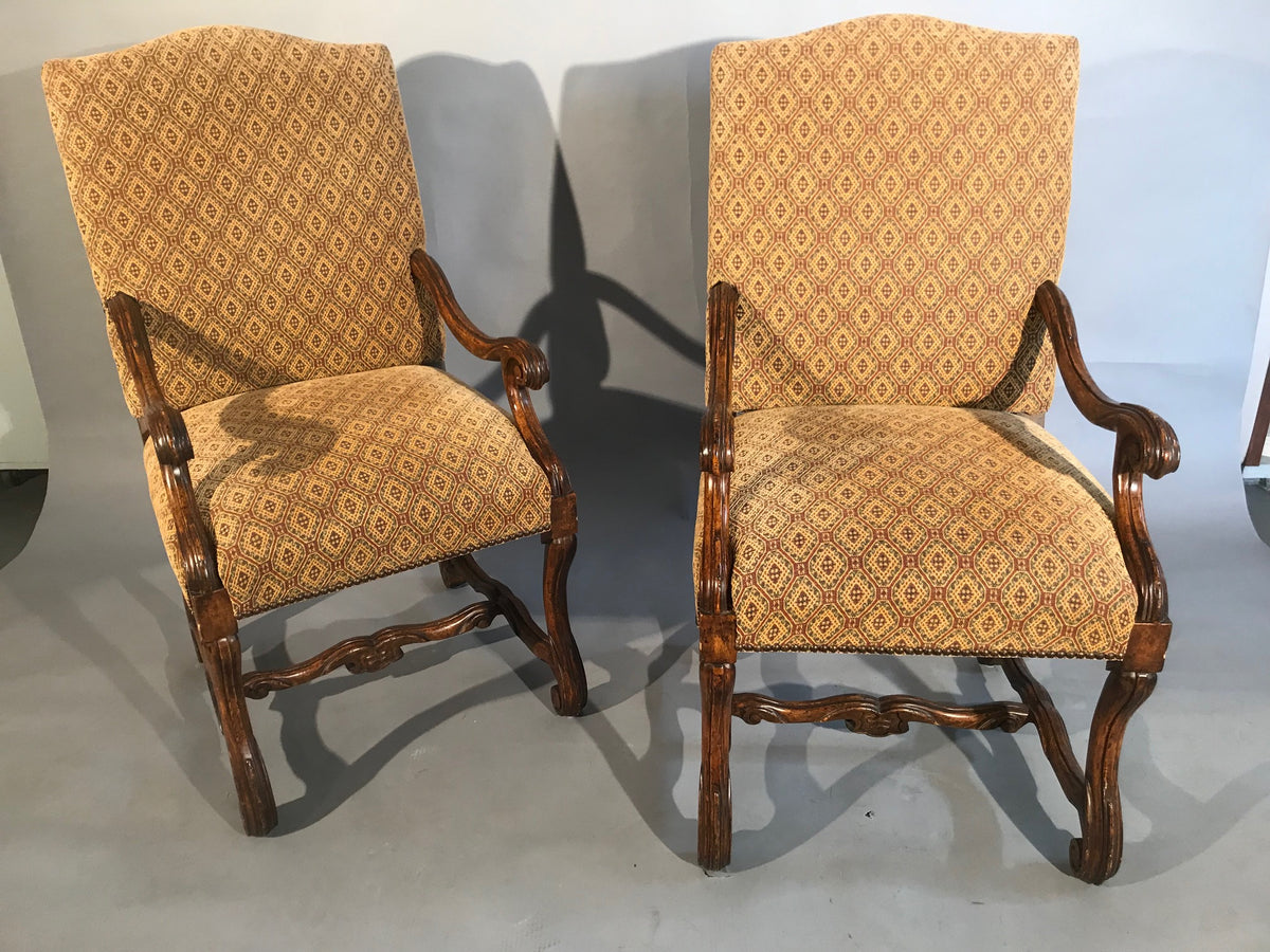 Set of Six Arm Chairs