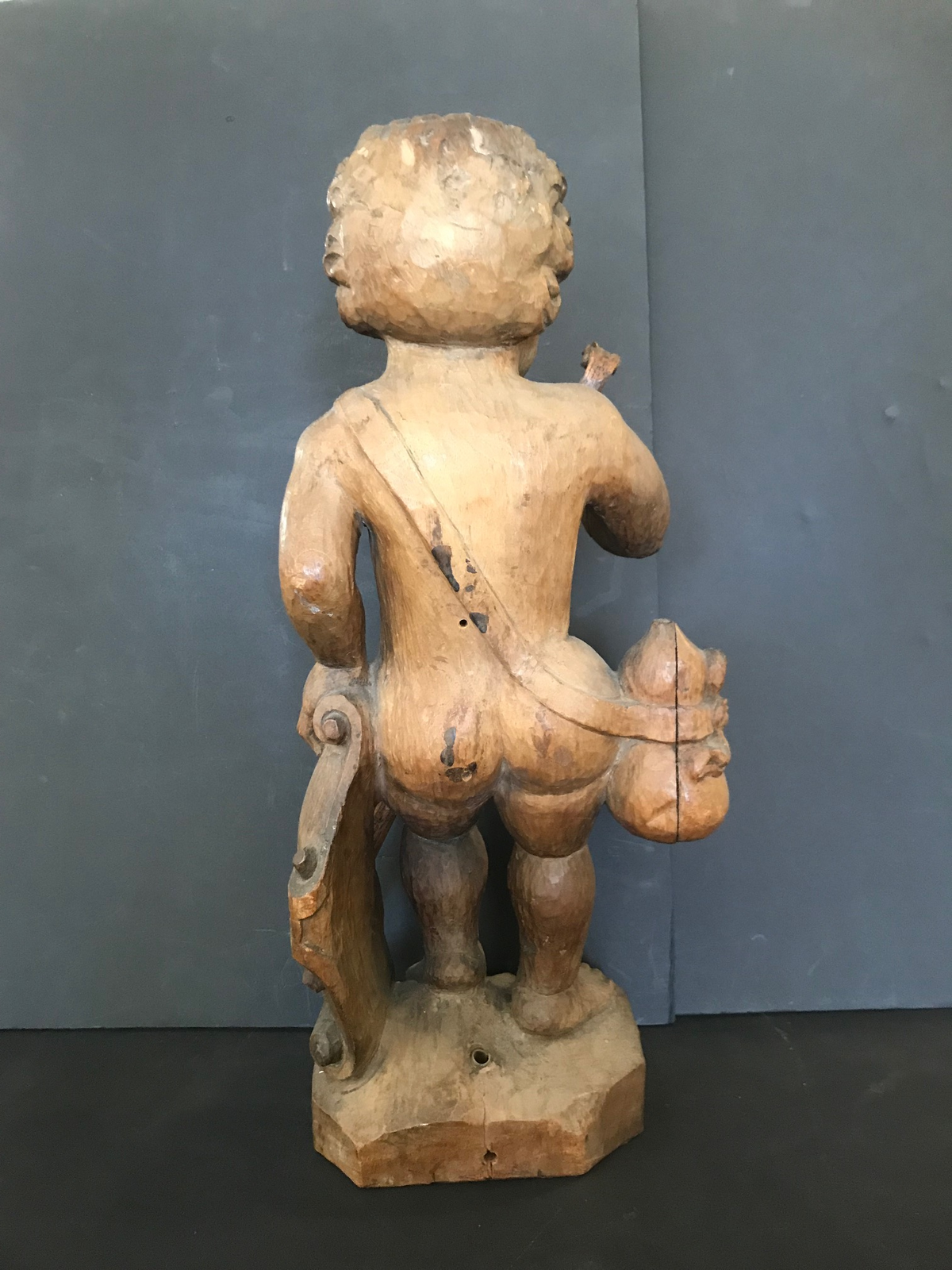 Wood Putti Early 19th Century