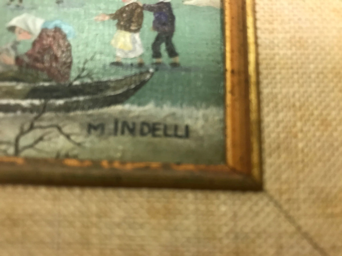Oil by Mimma Indelli