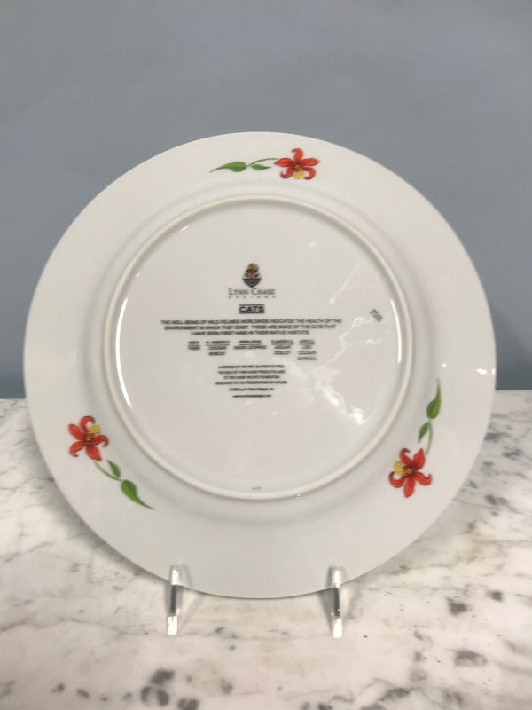 "Set of Twelve Lynn Chase ""Cats"" Service Plates (Chargers)"