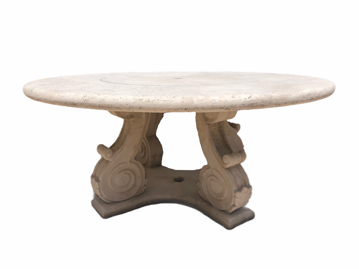 Michael Taylor Collections Round Outdoor Table