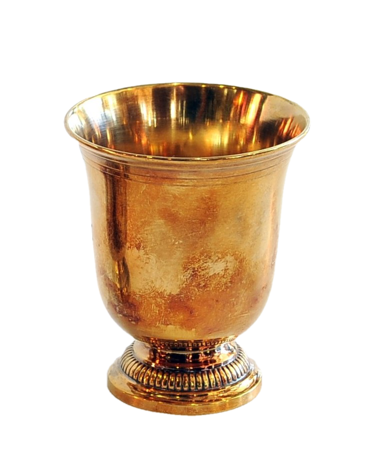 Small Gold-washed Sterling Silver Goblet