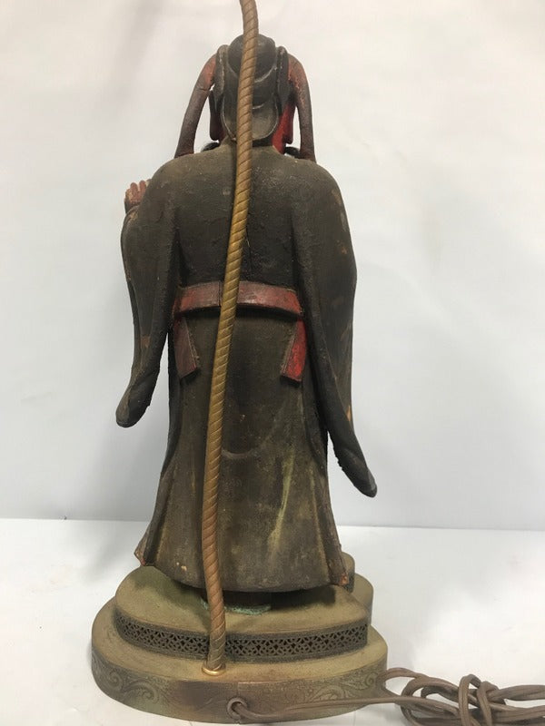 Asian Warrior Lamp