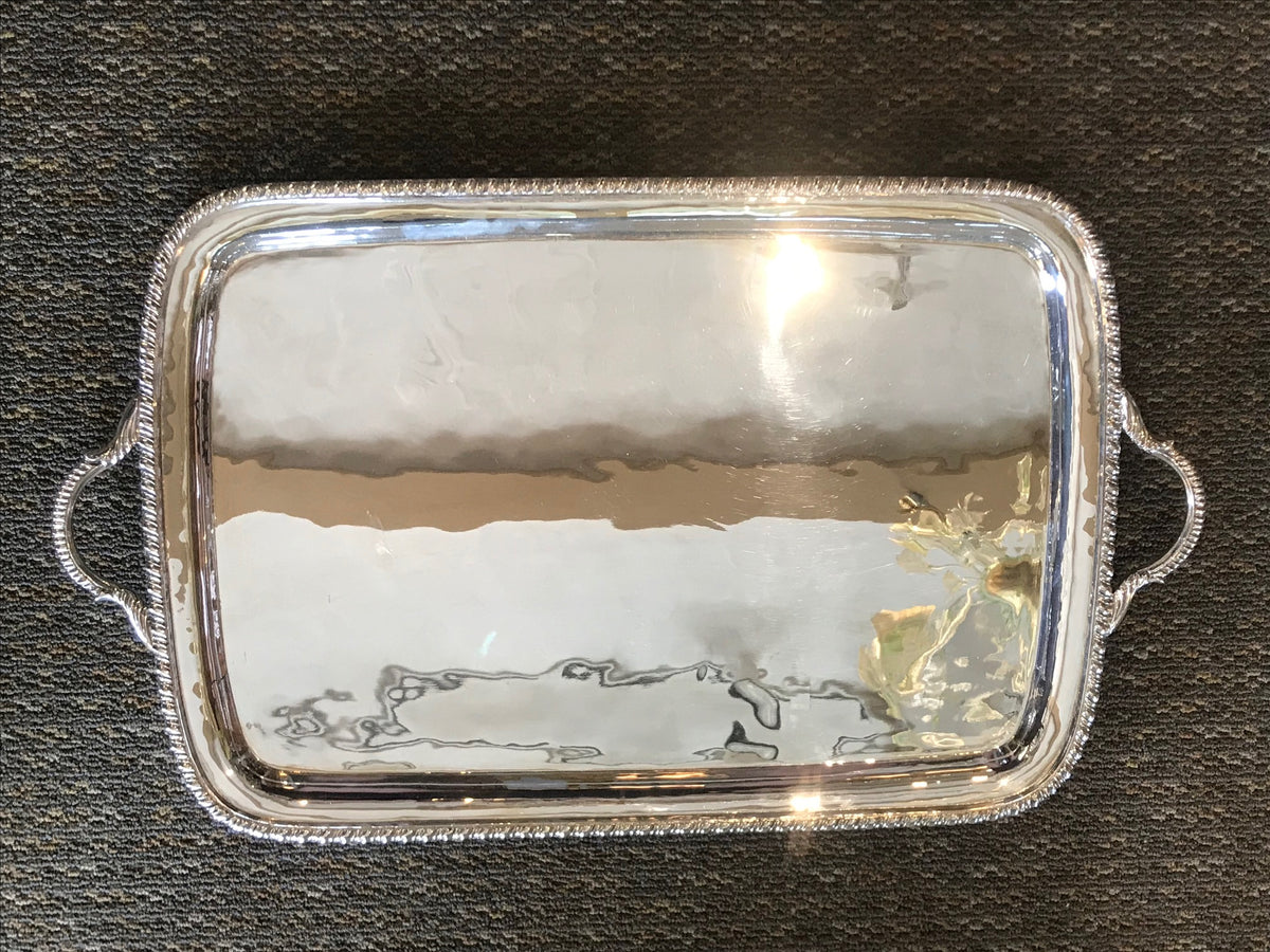 Sterling Tray With Handles