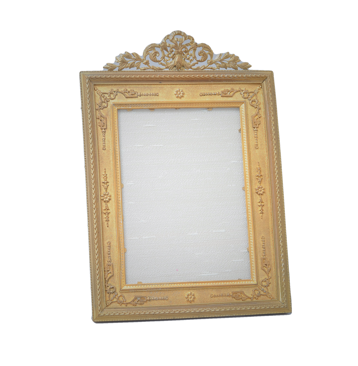 Lord and Taylor Art Deco Gilt Bronze Table Top Frame. American, Early 20th C.