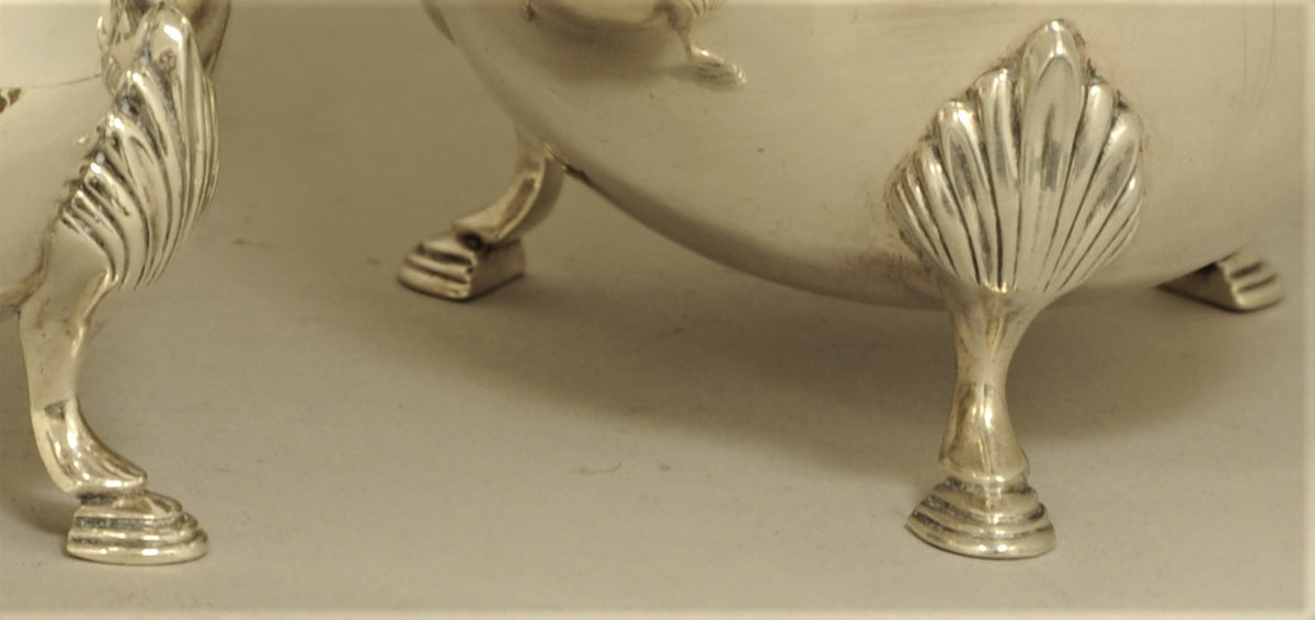 Pair of Neo-Classical Style Sterling Silver Sauciers