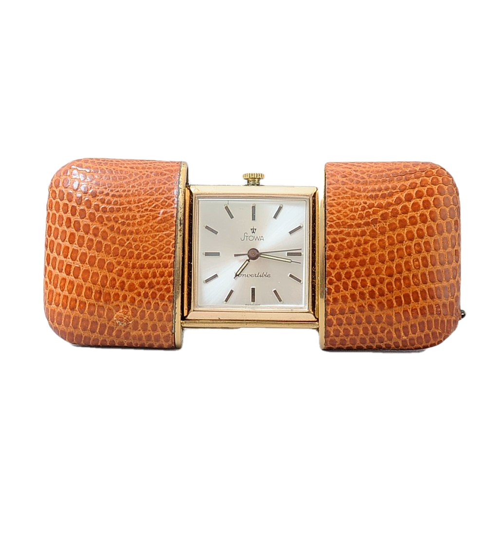 Stowa Convertible Art Deco Purse Watch. German