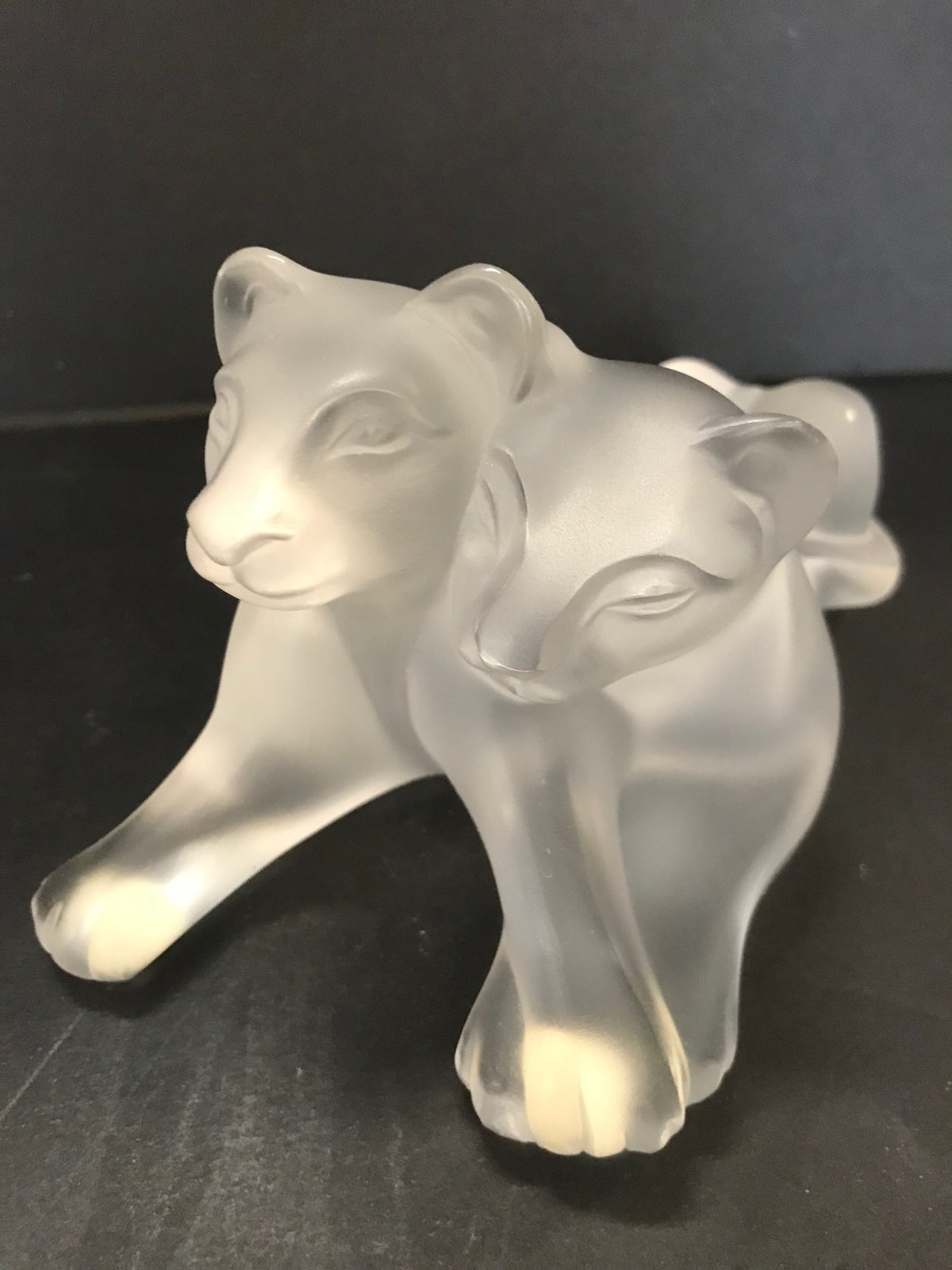 "Lalique ""Tambee"" Lion Cubs"