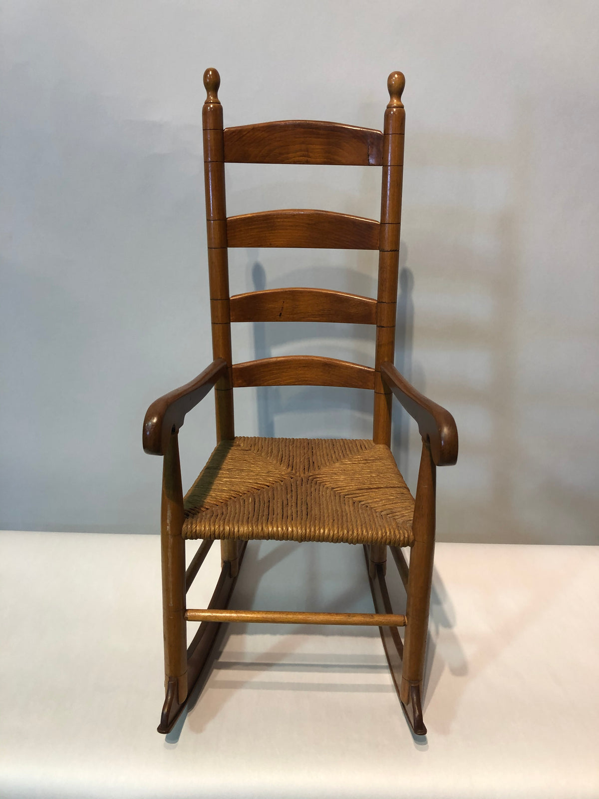 Miniature Rocking Chair signed P Given 1975
