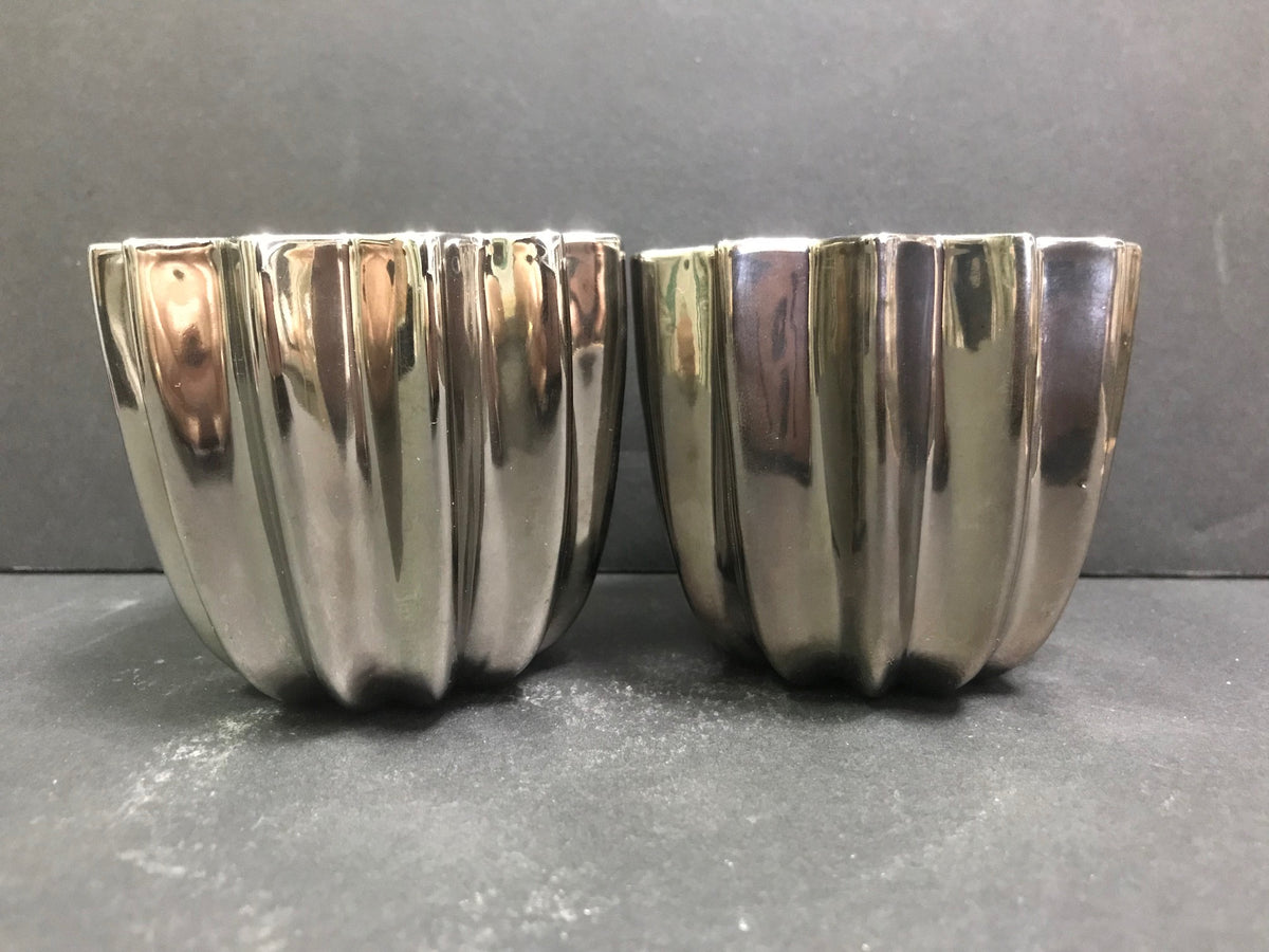 Pair Bucellati Cups/Candleholders