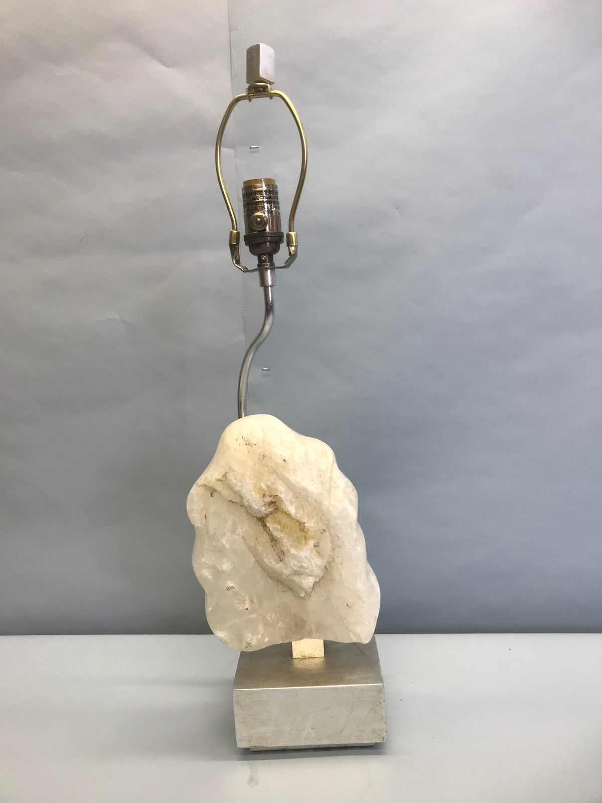 Geode Style Lamp