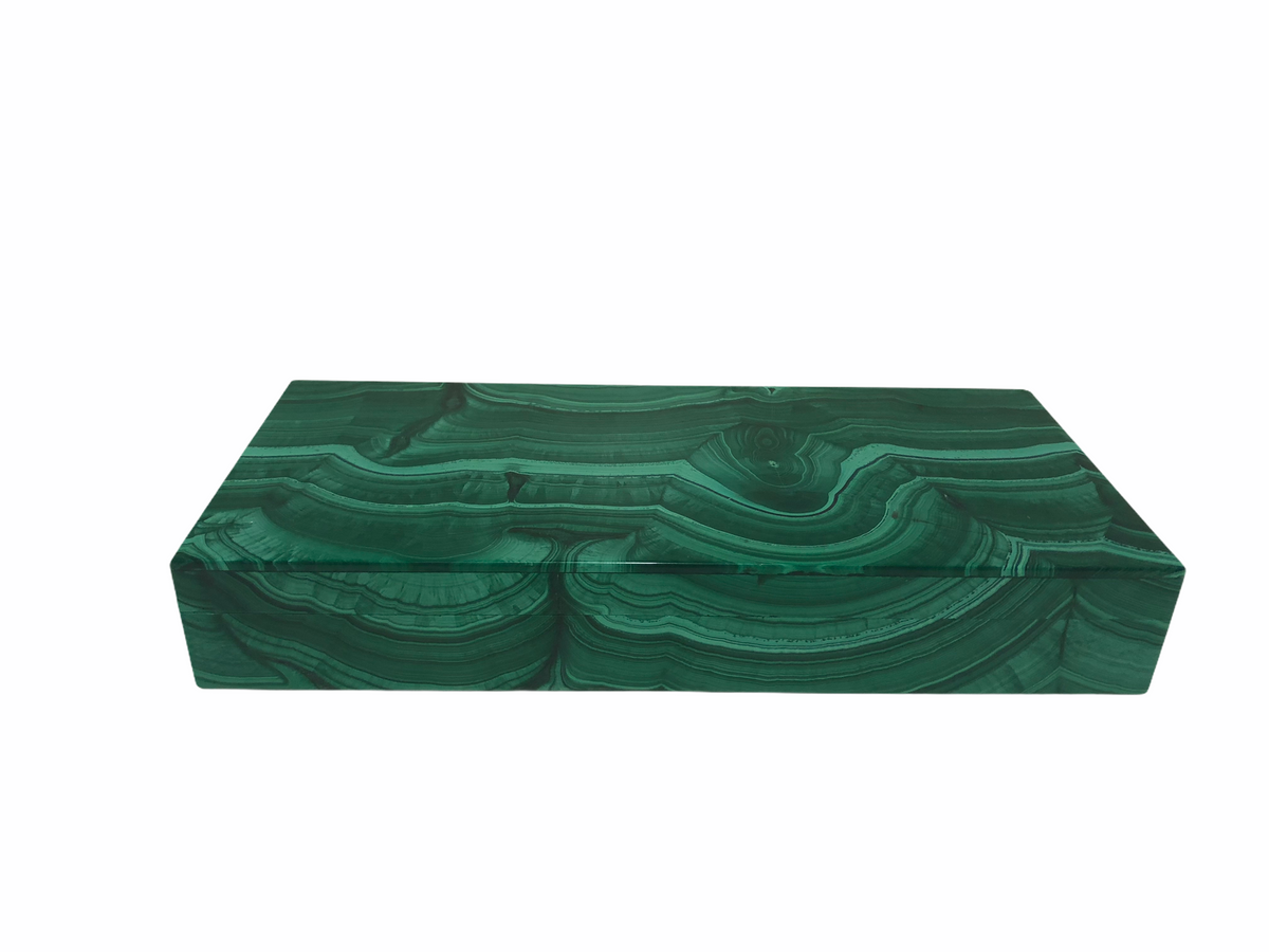 Vintage Malachite Box