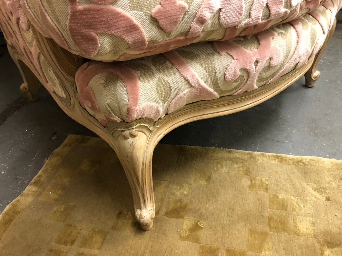 Big Bergere with Nobilis Fabric