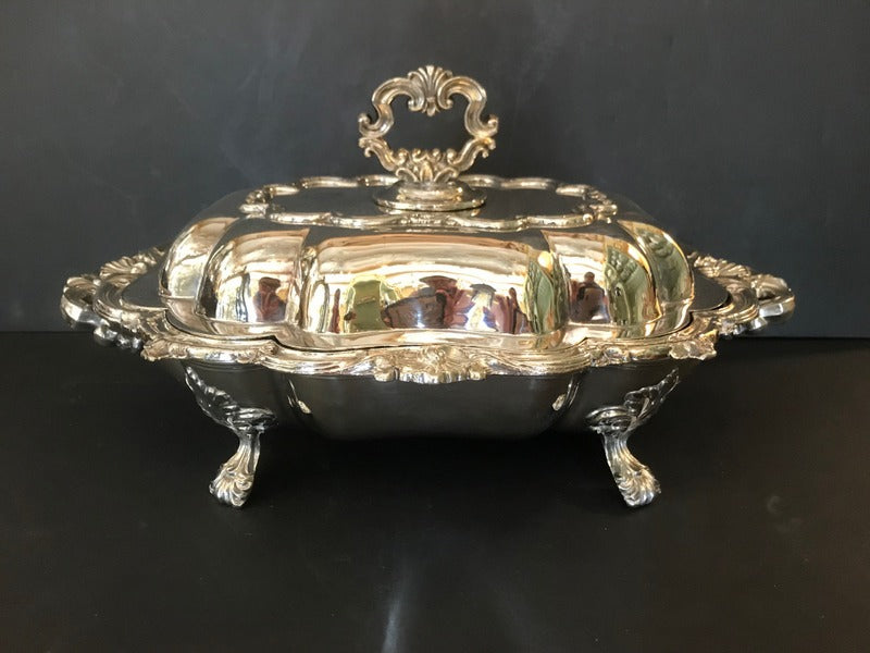 Silver Plate Server