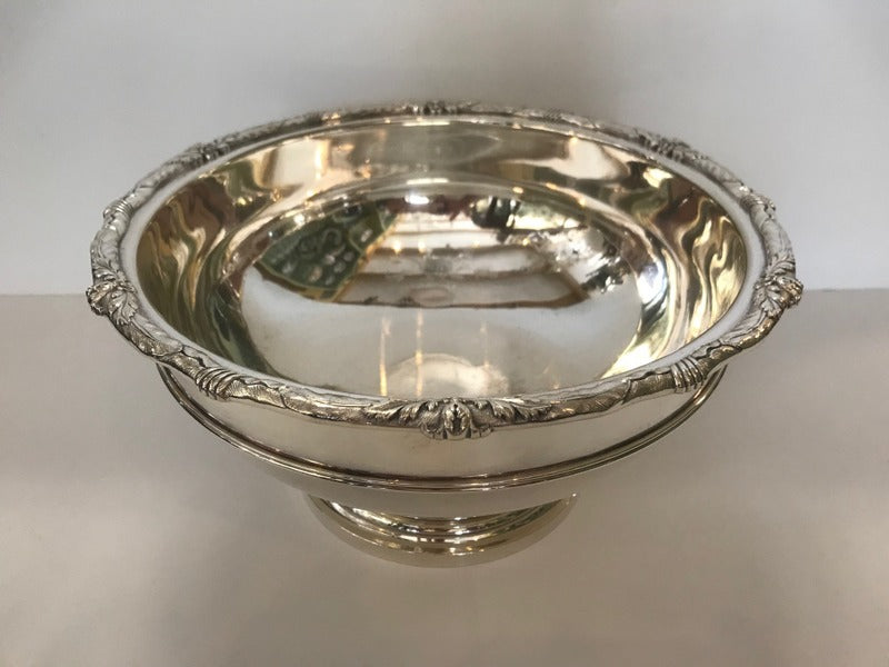 Kirk Sterling Silver Footed Center Bowl