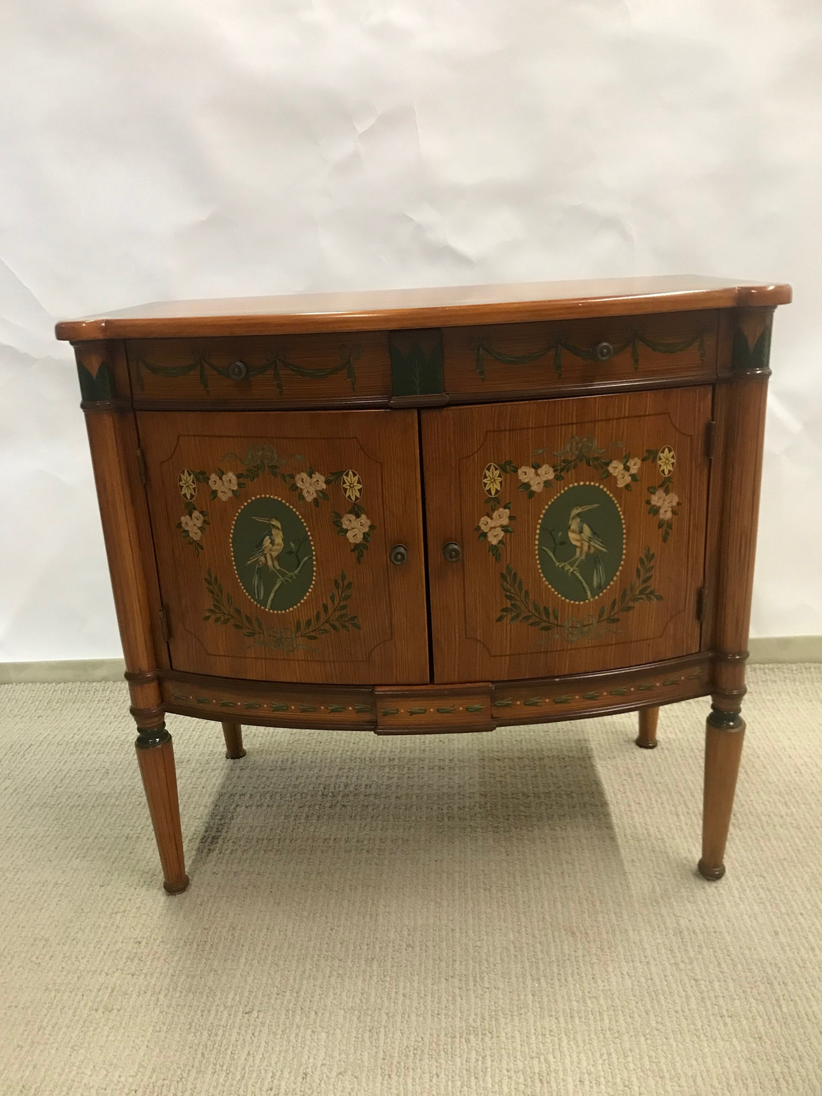 Julia Gray Adams Style Two Door Cabinet