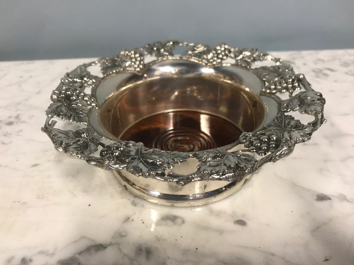 Silver Plate Wine Holder