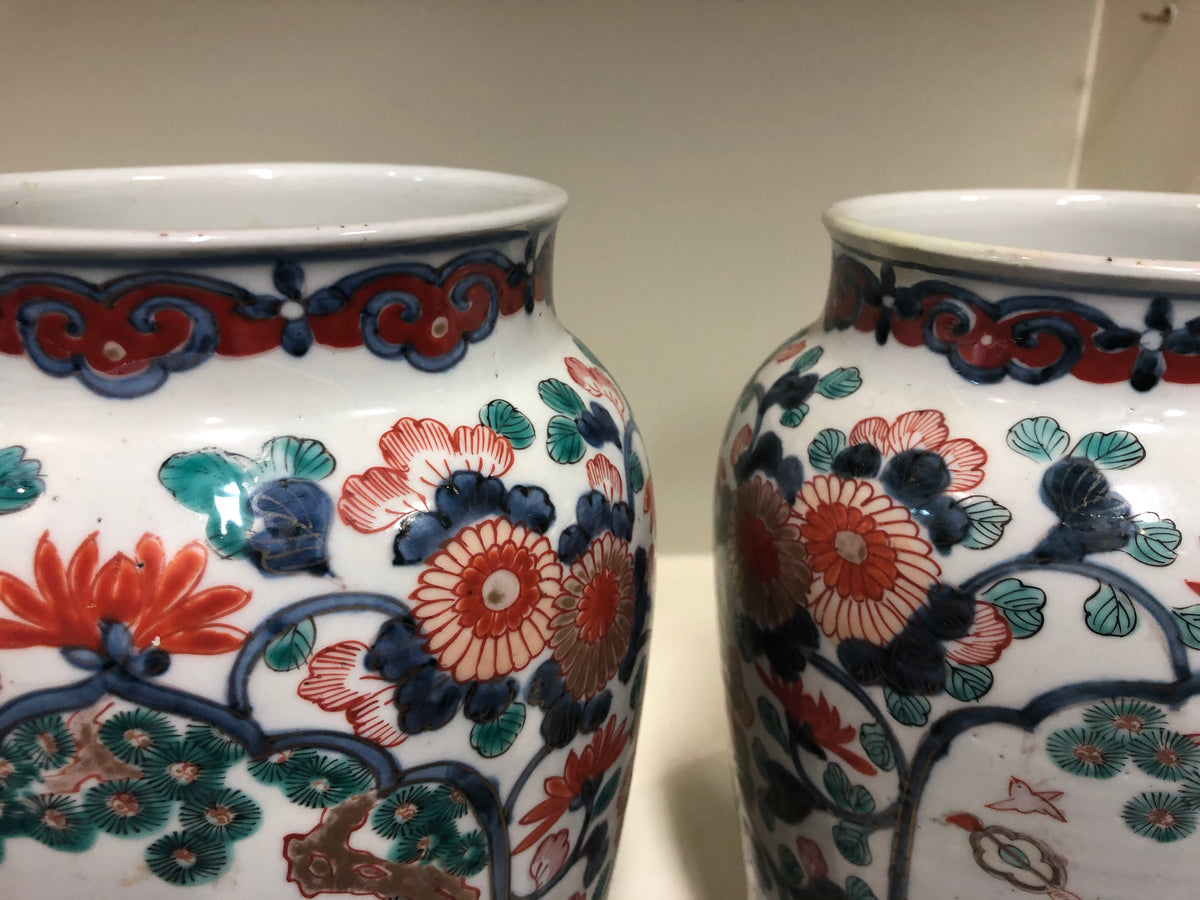 Early 19th Century Export Vases