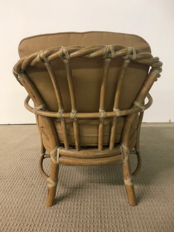 Bamboo Chair with Cushions