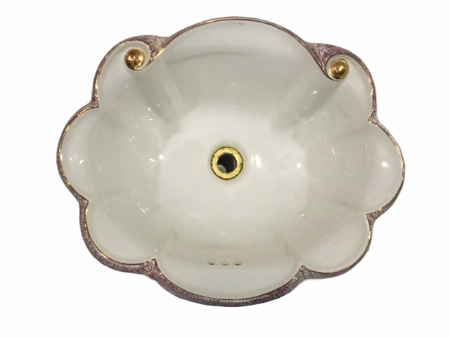 Overedge Sink Bowl Signed Le Bijou