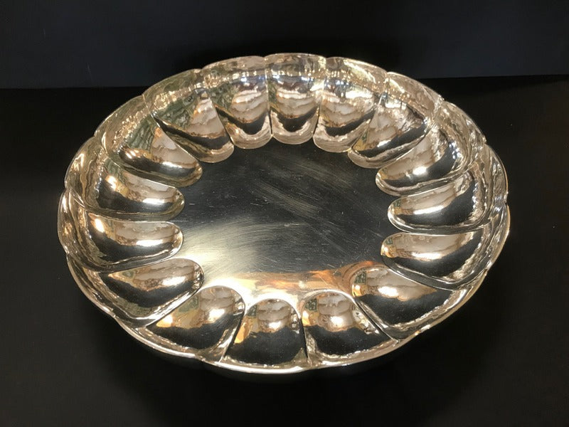 Large English Sterling Bowl