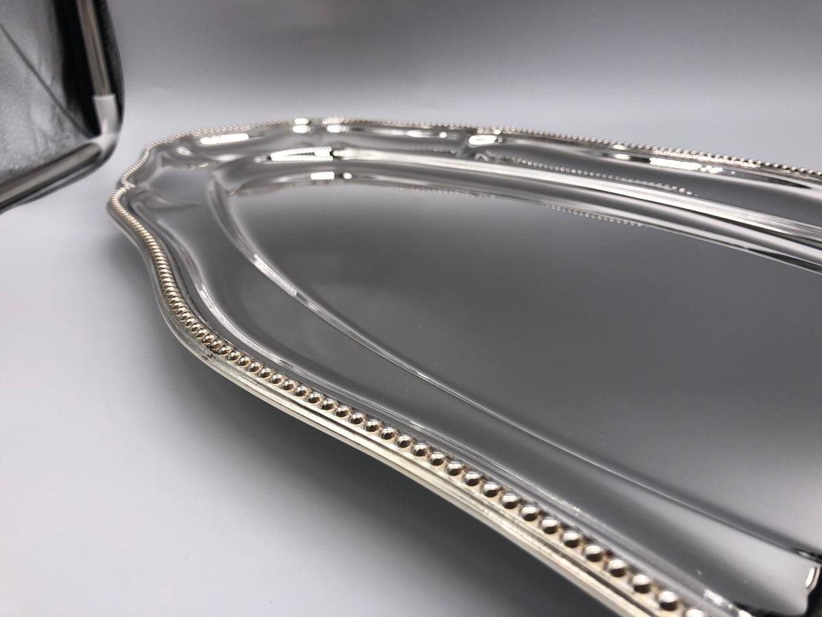Long Oval Sterling Serving Tray