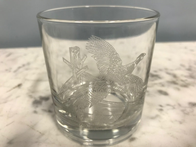 "Set of Five Whiskey ""Hunting"" Glasses"