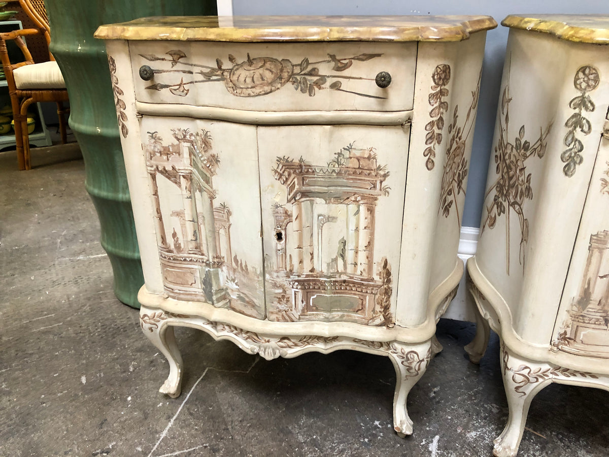 Pair of Painted Cabinets