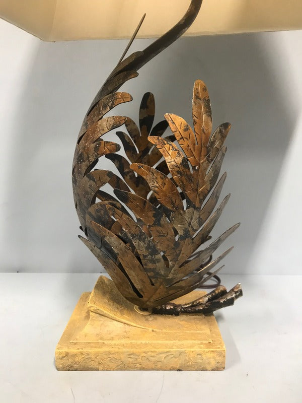 Metal Leaf Lamp