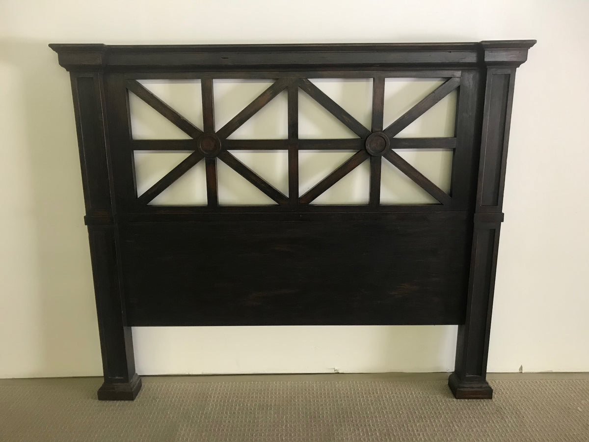 Arts & Crafts Wood Headboard