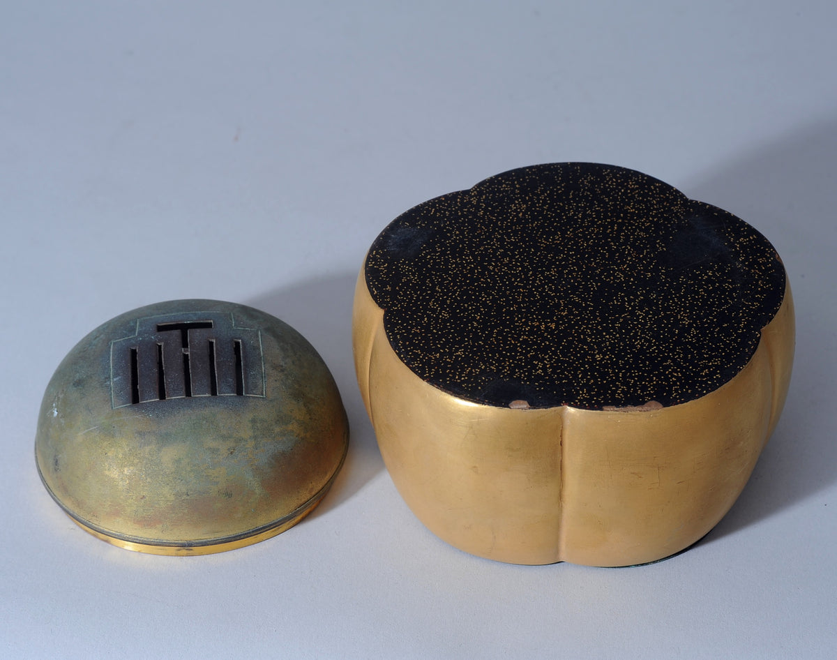Koro or Incense Burner in the Shape of an Akoda Japanese, Late Edo Period.