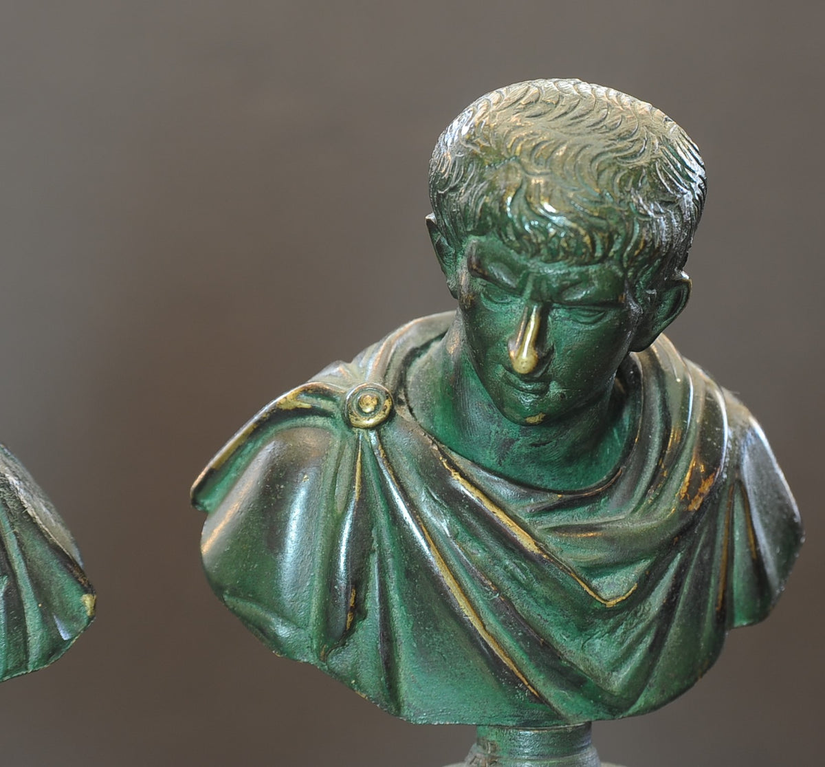 Two Greco-Roman Style Busts
