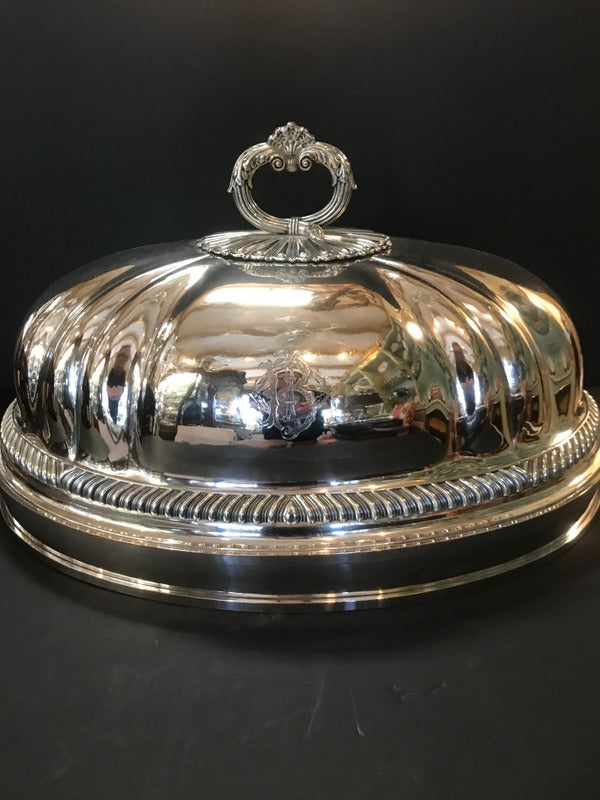 Silver Plate Meat Dome