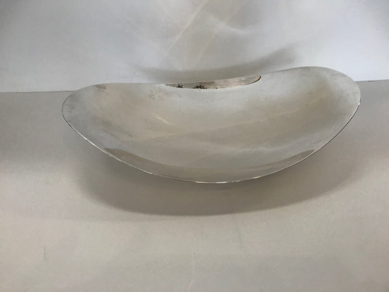 Tiffany Sterling Oval Footed Dish