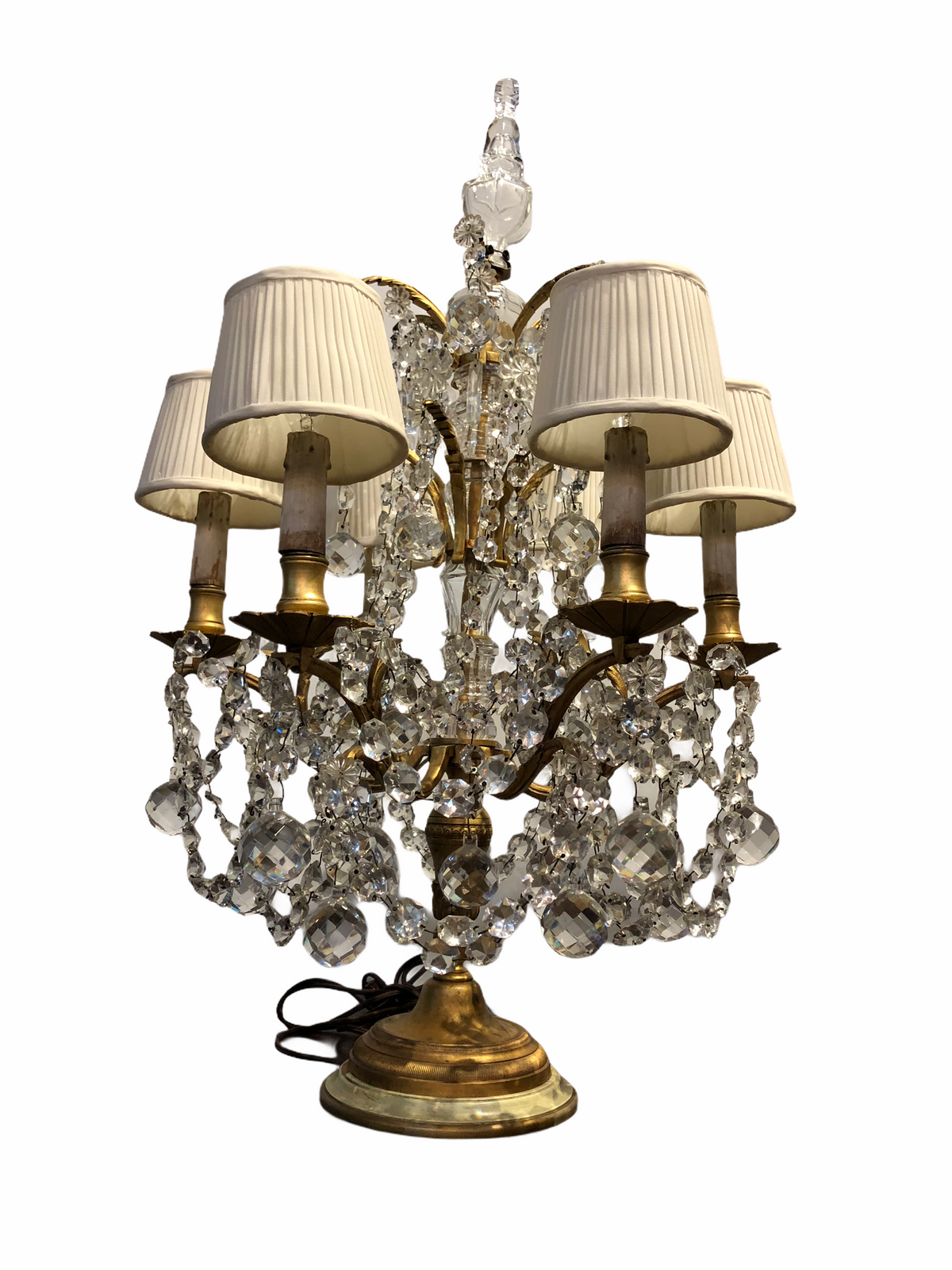 6 Light Girandole Lamp